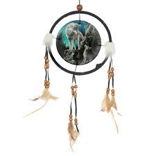 Traumfänger Wolf Dreamcatcher Mythologie Geschenk Indianer-Fans Esoterik 16 cm Ø