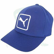 """PUMA berretto da golf """" Cat TOPPA """" CURVO CHERMO, taglia universale,blu marino/"""