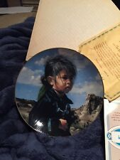 Hamilton Collection Navajo Little One By Ray Swanson W/Coa
