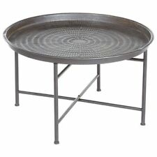 Table à café Instant en métal Grise