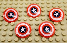 Lego Avengers Lot of 5 CAPTAIN AMERICA SHIELDS Minifig Accessories Fast Shipping