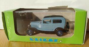 Eligor Model Car 1205 Ford V8 1932 Berliner Tudor Made In France