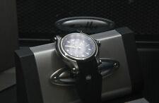 OakleyUnisex 10-213 HOLESHOT Three-Hand Swiss Watch w/Blk Face-SS Case-PRISTINE