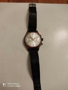 chronographe suisse EBERJAX,mécanique Landeron 248 vintage
