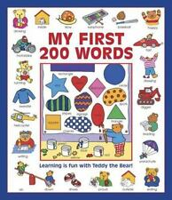 My First 200 Words : Learning Is Fun with Teddy the Bear! by Nicola Baxter...