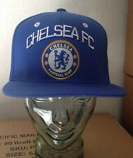 Chelsea Soccer Traditional Blue Snapback Cap Adjustable Official Product