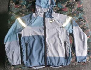 Nike Wild Run Multicolour Patchwork Windrunner Windbreaker Jacket RARE Medium