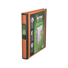Staples Better 1-Inch D 3-Ring View Binder Orange (13465-CC) 651739