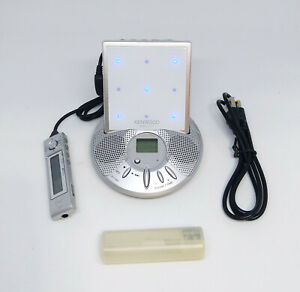 Kenwood DMC-T77 Portable MiniDisc MD player w/ Stand *Works*