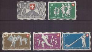 Schweiz 555-59 **
