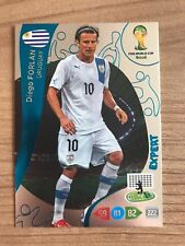 Adrenalyn XL Weltmeisterschaft 2014 Expert Karte Diego Forlan Uruguay Panini