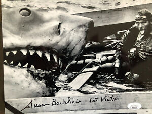 Special Low Price! JAWS 8 x 10 Hand Signed by Susan Backlinie. JSA Cert