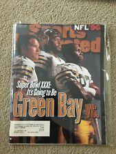 FM6-3 Sports Illustrated Magazine 9-2-1996 BRETT FAVRE SUPER BOWL PREVIEW PACKER