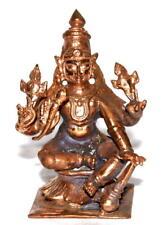 Lord Vishnu Idol In Copper