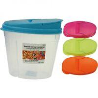 4er Set Vorratsdosen 1,5 L Frischhaltedose Schüttdosen Streudose Vorratsbehälter