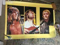 EL&P Emerson Lake & Palmer Warner pioneer promo poster 1970's Tarukas