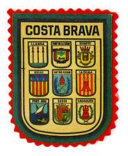 ECUSSON VILLE - REGION BLASON IMPRIMÉ - PRINTED PATCH COSTA BRAVA ESPAÑA ESPAGNE