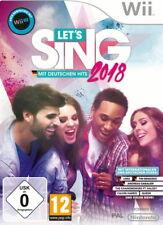 Let's Sing 2018 mit deutschen Hits (Nintendo Wii, 2017)