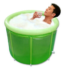 Latest Adult Folding Bathtub Men Women Large SPA Sauna Bath Tub Safe Bath Barrel