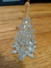 Little Christmas Tree Made Of Glass For The Holidays