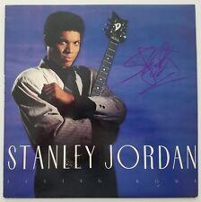 Stanley Jordan Signed Flying Home Vinyl Record Legend Rock & Roll