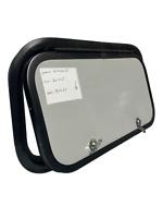 """21.5"""" X 12.5"""" X 2"""" Gray RV Baggage Cargo Compartment Access Storage Door Camper"""