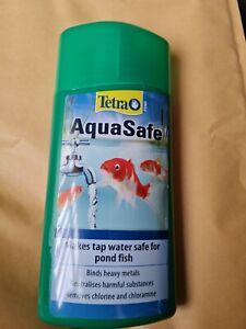 Tetra Pond Aquasafe 500ml Water Treatment,treats 10,000l of water.
