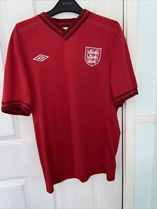 England Football Red Away Shirt 2006-2008 Umbro Size XL