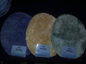 Bathroom Toilet Seat  Cover Solid Color Bath  Carpet Mohawk C12
