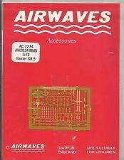 Airwaves etched metal 72-34 BAe Harrier GR.5 detail set in 1:72 Scale