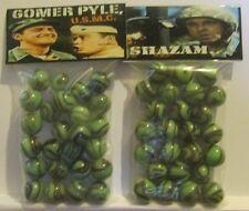 2 Bags Of Gomer Pyle U.S.M.C. TV Show Promo Marbles
