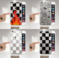 Cover For LG, OPPO, Check, Silicone, Soft, Alternative, Flame, Trendy, Clear