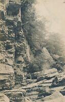 CLARKSVILLE NY – The Palisades Real Photo Postcard rppc