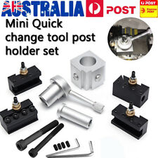 Quick Change Tool Post Mini Lathe CNC Boring Bar Turning Tool Holder Screw Kit