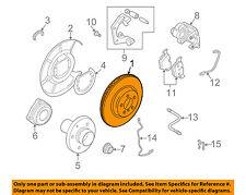 BMW OEM 02-05 745i Rear Brake-Rotor 34216864046