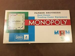 1961 Monopoly Game No. 9 New In Box NIB Original Sealed Unopened Parker Brothers