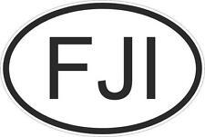 Adesivo adesivi sticker codice auto moto ritagliato nazioni ovale fiji