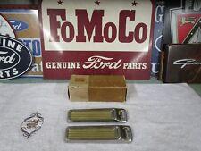 1958 Ford NOS Quarter Ornaments ( 2 ) B8A-64299S2-A