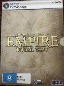 SPECIAL FORCES EDITION/EMPIRE TOTAL WAR - SEGA - PC GAMES