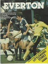 Everton v. Feyenoord UEFA Cup 1979-1980