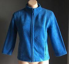 Gorgeous ESPRIT Blue Polar Fleece Zip Jacket Size M (10)