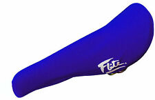 FLITE padded (neoprene) old school BMX seat cover - BLUE - NEW *MADE IN USA*