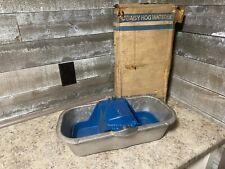Vintage Royal Machine Procucts Daisy No. 50C Cast Aluminum Hog Waterer Nos!