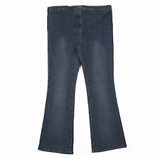 DOROTHY PERKINS DARK BLUE DENIM STRETCH MATERNITY JEANS SIZE 12, LEG 30 INCHES
