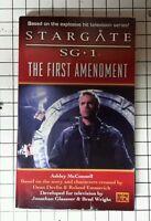 Stargate SG-1 The First Amendment Novel Book 1st printing
