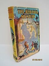 The Rubadub Mystery a Vintage Book by Enid Blyton