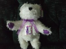 """8"""" American Cancer Society, Relay for life Jointed bear 2002"""