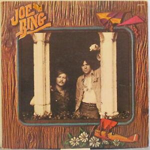 JOE AND BING s/t LP 1970s Soft Rock/Folk – Promo Copy