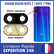 XIAOMI REDMI NOTE 7 / NOTE 7 PRO vitre camera lentille appareil photo arriere