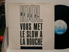 "BILLY IDOL Vous met le slow a la bouche: Sweet sixteen MAXI 12"" 6863323"